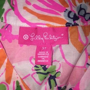 Lilly Pulitzer for Target Dresses - Lilly Pulitzer Beach Cover Up Dress Nosey Posey 3T